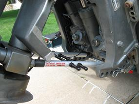 Lock N Haul Outboard Motor Support For Trailering